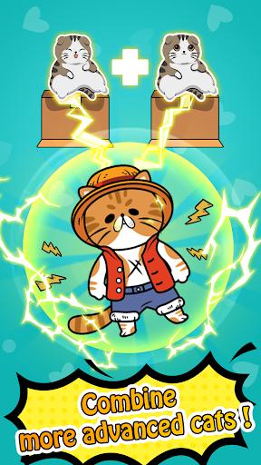 Merge Cats - Cute Idle Game 1.0.10 Cheat screenshots 1