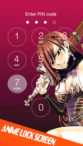 Anime Lock Screen Wallpaper Screenshot 3