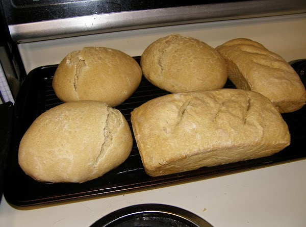 1) Combine all of the ingredients, kneading to form a smooth dough. 2) Allow the...