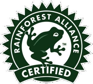 Logo for Lipton Rainforest Certified Iced Tea
