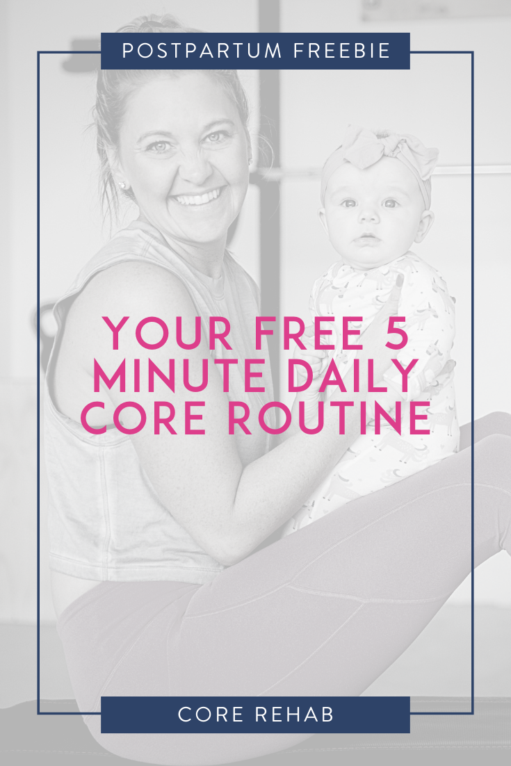Get your free 5 minute daily core routine