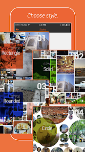 Tiling with Instagram photos- screenshot thumbnail