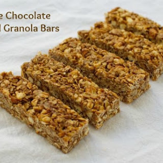 No-Bake Chocolate Almond Butter Granola Bars
