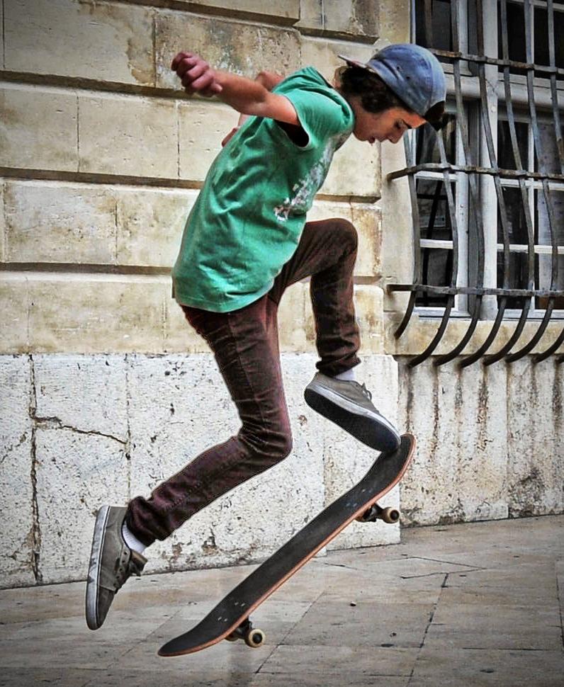 Skater di pinello