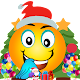 Download santa emoji christmas for whstickersapp For PC Windows and Mac