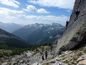 Photo: Perfect top roping mountain crag near Carlyle Lodge