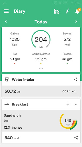 Health & Fitness Tracker with Calorie Counter 2.0.70 screenshots 3