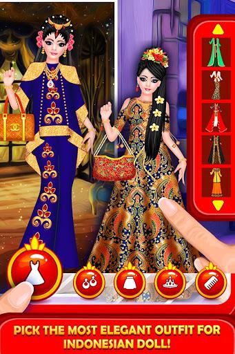 Indonesian Doll Fashion Salon Dress up & Makeover 2.0 screenshots 3