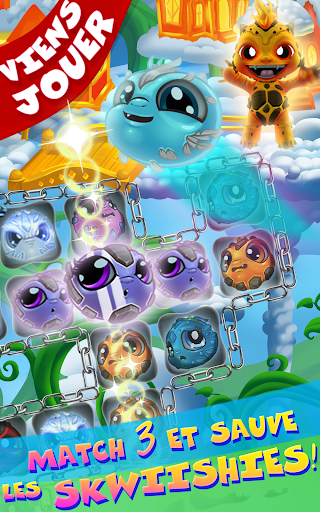 Save Our Skwiish: Charm Heroes A Fun Match 3 Quest  captures d'u00e9cran 9