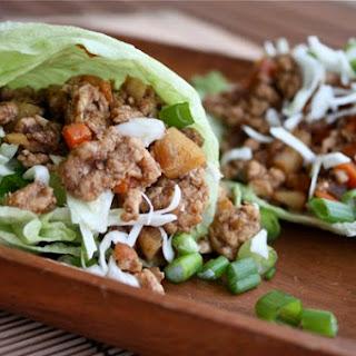 Chinese 5-Spice Turkey Lettuce Wraps