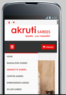 Online Sarees Shopping Shop- screenshot thumbnail