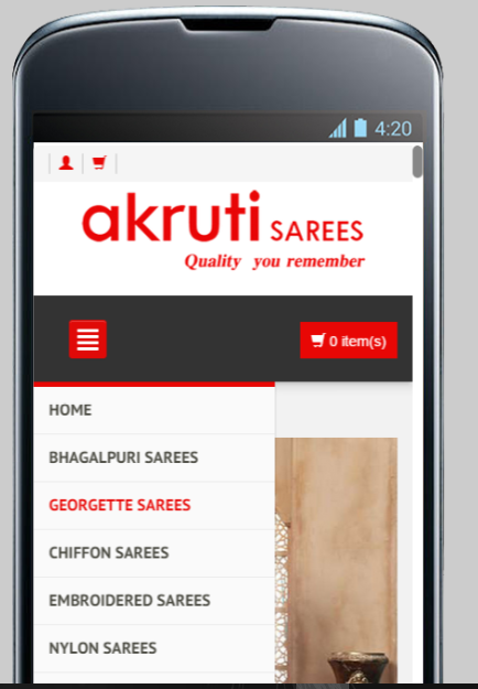 Online Sarees Shopping Shop- screenshot