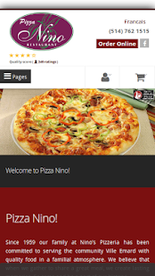 Pizza Nino Montreal- screenshot thumbnail