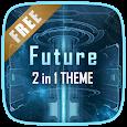 Future 3D Launcher & Locker icon