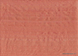 Photo: 100% Handloom Dupioni Silk - H/L Coral