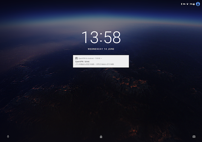 OpenVPN for Android Screenshot