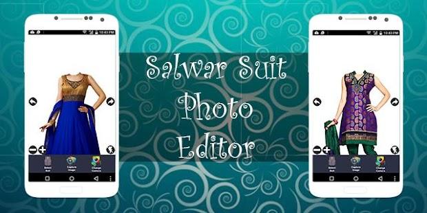 Salwar Suit Photo Editor - náhled