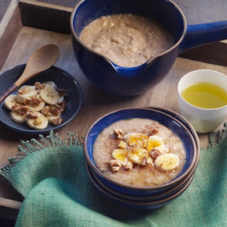 Korean Walnut Rice Porridge.