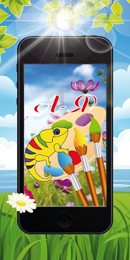 Alphabet Coloring screenshot 1