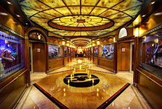 Photo: Disney Cruise Hallway - from Trey Ratcliff at http://www.StuckInCustoms.com