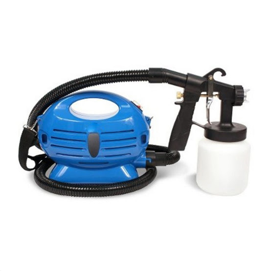 Paint Zoom Copper Nozzle Sprayer Gun Electric Powered Mini