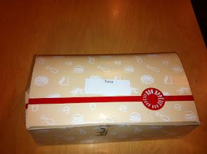 Photo: A tuna lunch box
