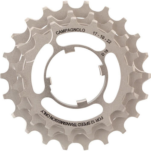 Campagnolo 12-Speed 17, 19, 22 Sprocket Carrier Assembly for 11-32 Cassettes