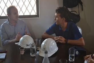 Photo: Jhon Trujillo y Paulo López pensando en Energía Limpia