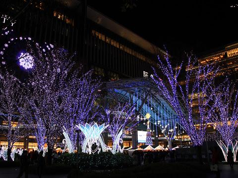 博多駅 クリスマスイルミネーション_03
