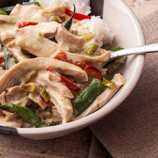 Thai Green Curry Chicken Thighs