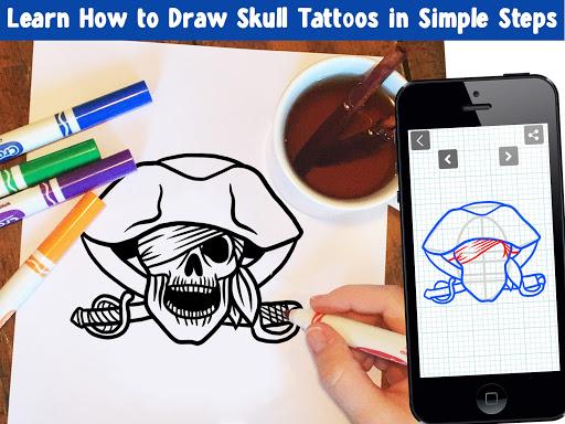How To Draw Skull Tattoos 6.0 screenshots 2