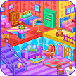 Doll house decoration game APK