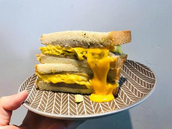 鳳梨寶堡Pineapple Baby 板橋新埔人氣排隊早午餐,芋頭控必吃 芋見土石流、芋泥蛋餅