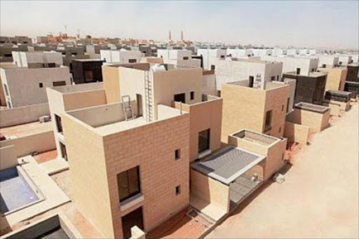 An estate in Saudi Arabia, where the IMF estimates only 36 per cent own their homes. Photo/COURTESY