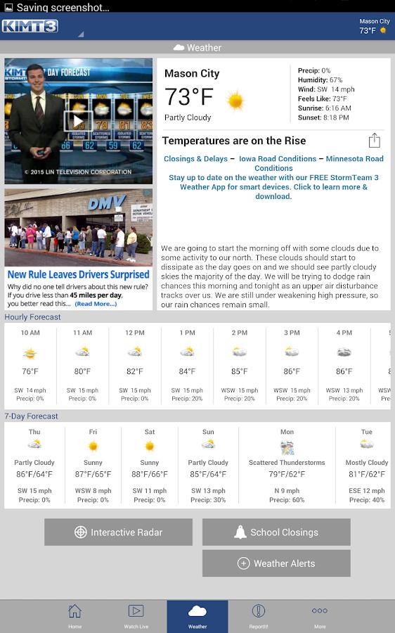 KIMT News 3- screenshot