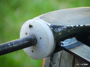 Photo: une rondelle ronde :) materiau de recup
