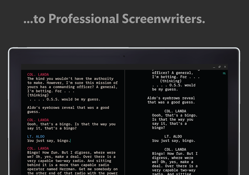 JotterPad - Writer, Screenplay, Novel Screenshot 9