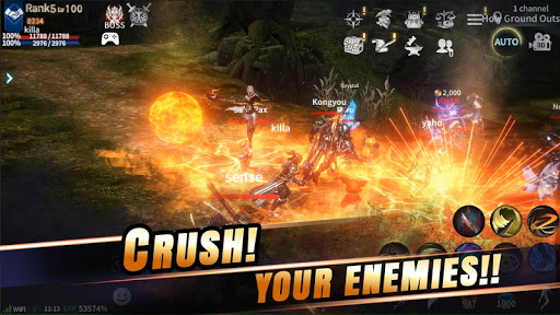 RebirthM 0.00.0043 gameplay | by HackJr.Pw 15