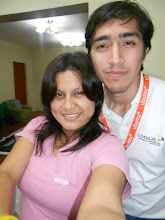 Photo: with Cesar preparing the food for the event :)