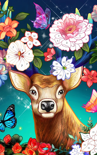 Bible Coloring - Paint by Number, Free Bible Games 2.5.2 screenshots 13