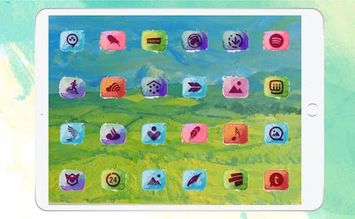Watercolor - Icon Pack Screenshot