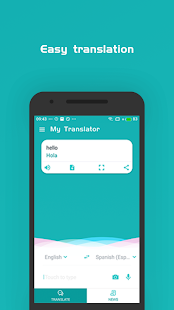 Vale translate - voice and text translator Screenshot