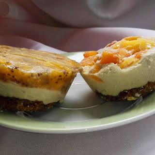 Raw Vegan Fruit Ice Cream Cake (Vegan Cheesecake).