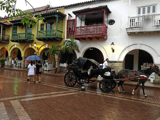 The old colonial centre of Cartagena. Picture: LESLEY STONES