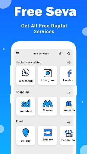 Online Seva : Digital Services India 2020 screenshot 4