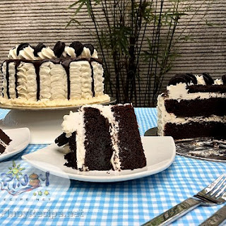 Cookies and Cream Cake.