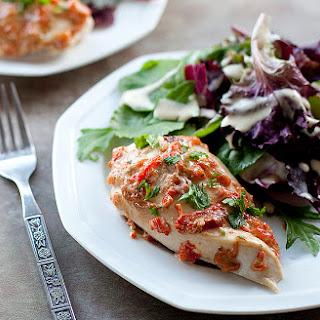 Tuscan Glazed Chicken Recipe (adapted from Hellmann's Chicken Change Up)