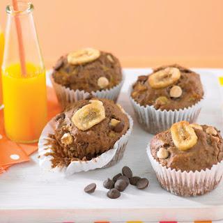 Chocolate Banana Muffins.