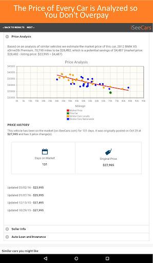 Used Cars & Trucks for Sale Screenshot