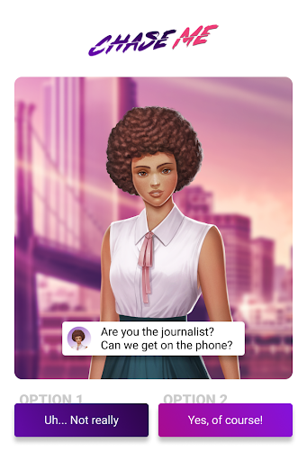 Chase Me -  Game of Choices in Romance Thriller 3.4.25 screenshots 1